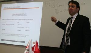 Ekrem Dost - Ticaret Üniversitesi Mali İşler Yönetimi Eğitimi